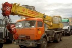 Автокран на базе КАМАЗ-КС-4572